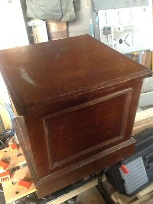 Vintage Ply Pine Commode