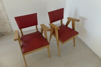 Chaises année 50/60 style scandinave