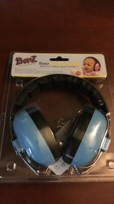 Baby Banz Ear Protection BLUE 3-24 Mos