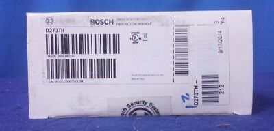 Bosch D273TH 4 Wire Photoelectric Smoke Detector with Heat Detector