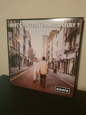 Oasis - (What's the Story) Morning Glory Vinyl Record 2 x 12' LP
