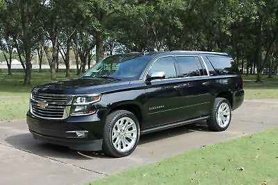 """2016 Chevrolet Suburban LTZ One Owner Perfect Carfax 22"""" Wheels Pwr Boards Nav Moonroof TV/DVD MSRP $72115"""