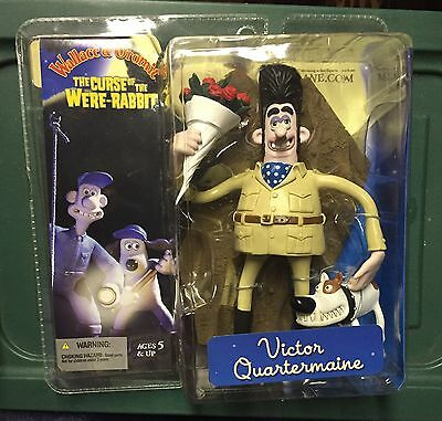 McFarlane Wallace & Gromit Figure Victor Quartermaine New Curse Of Were Rabbit