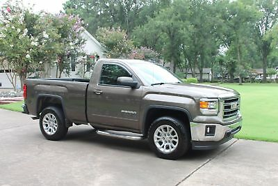 2015 GMC Sierra 1500 SLE 4WD SWB Regular Cab Z71 One Owner Perfect Carfax Z71 Navigation Backup Camera MSRP New $44425