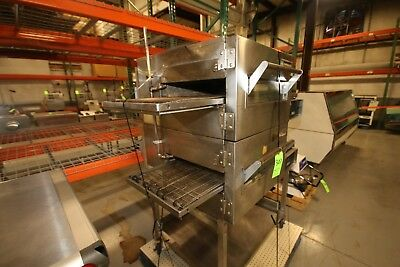 Lincoln Impinger 1132 Double Stack Electric Conveyor Pizza Oven