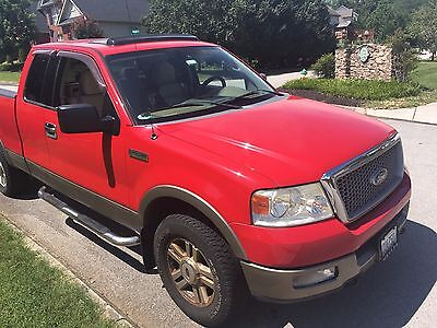 2004 Ford F-150 Lariet 2004 Ford F-150 Lariet 4x4, NO RESERVE, LOW MILES FOR THE YEAR