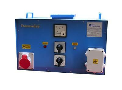 TRANSWAVE Static Converter STC7 -  10hp/7.5kW Single to 3-phase 240v to 415v