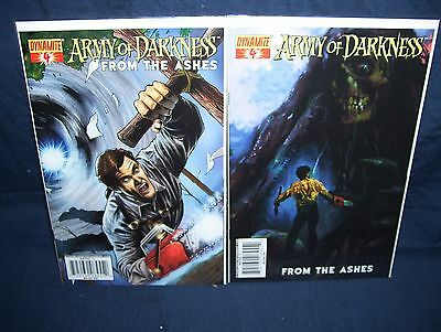 Army of Darkness From The Ashes #4 Comic Lot NM with Bag and Board Suydam