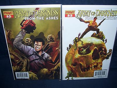 Army of Darkness From The Ashes #3 Comic Lot NM with Bag and Board Suydam Cover