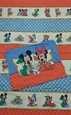 Disney Babies Bettwäsche bedding bedlinen bed set vintage 80s 90s baby Mickey