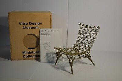 Vitra Design,  Miniatures Collection,  Knotted Chair  von Marcel Wanders, 1996