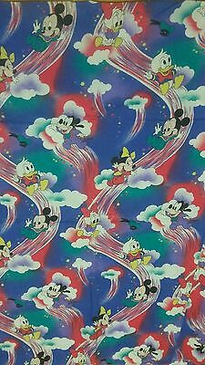 Disney Bettwäsche bedding bedlinen Micky Maus vintage Mickey Mouse Minnie 80s 90