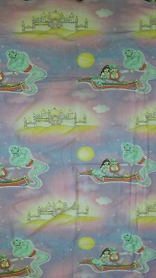 Disney ? Bettwäsche bedding Aladdin vintage 80s 90s fabric
