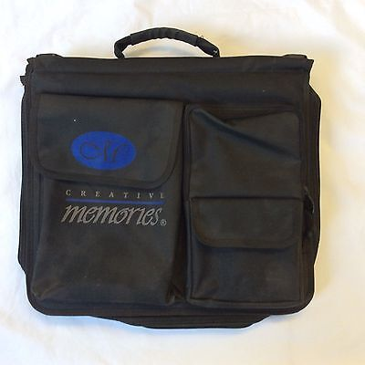 **USED -  Creative Memories MEMORY MATE BAG - STORAGE TOTE