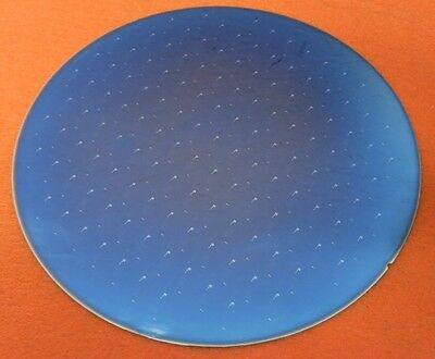 "8"" 200mm Silicon Wafer for Art Projects Pattern on front, blank back #40"