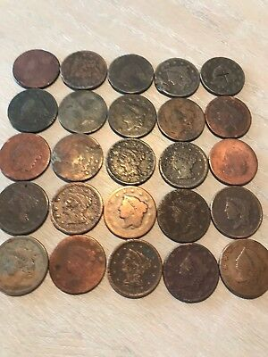 1816-1856 Large Cents -Inexpensive- $4.99