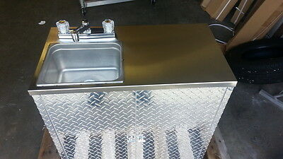 Portable Self Contained Single Sink , Food Truck / Trailer