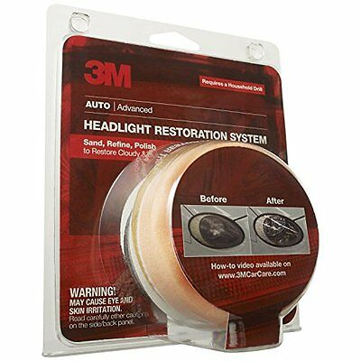 39008 Headlight Lens Restoration System NEW
