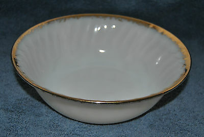 Beautiful Vintage Fire King Ware, Milk Glass Ware USA Serving Bowl