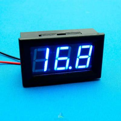 HOT New DC 0-10V 0.56 Inches Blue LED Voltage Display Digital Voltmeter Panel