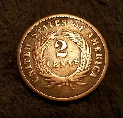 1864 two cent piece