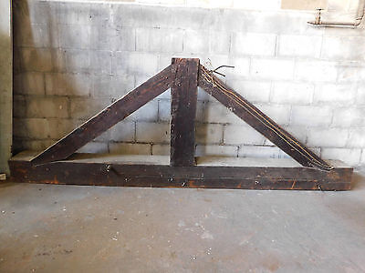 Antique Timber Entry Beam Header Lintel  - C. 1890 Pine Architectural Salvage