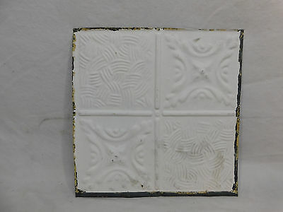 "12"" x 12"" Antique Tin Ceiling Tile - C. 1890 Multi Design Architectural Salvage"