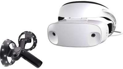New 2017 Dell Visor Headset w/ Controllers, Windows Mixed Reality, Global Ship!