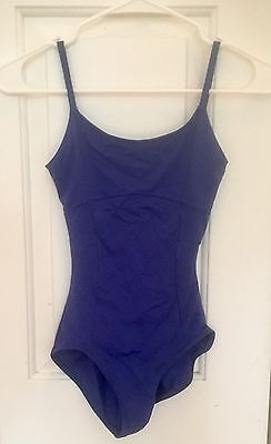 ABT Official Embroidered Camisole Leotard Dark Blue Size Small, Ballet, Dance