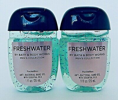 Bath & Body Works Ocean For Men Pocketbac Anti Bacterial Hand Gel New!
