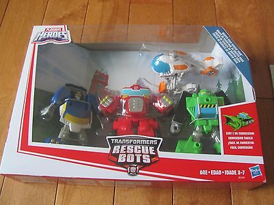 Transformers Rescue GRIFFIN ROCK RESCUE TEAM Playskool Heroes 2015 NEW