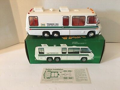 Vintage 1978 Hess Training Van with Original Box and Insert Clean