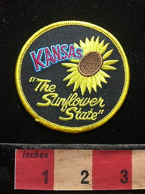 Kansas Patch THE SUNFLOWER STATE C71C