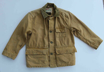 Original 1940s Childs Boys Utica Outdoor Work Chore  Jacket Abercrombie & Fitch
