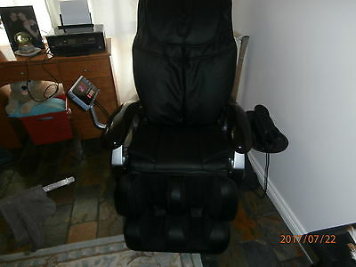 Soft Leather Full Body Massage Chair As New Condition Heat Stones