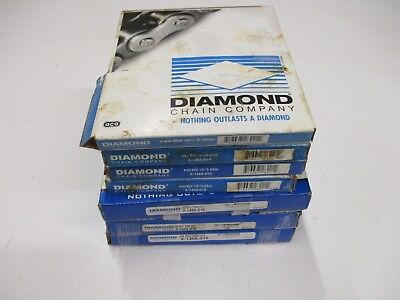7 DIAMOND X-1466-010 #40 RIV ROLLER CHAIN 3.05m 10FT