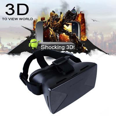 Hot Virtual Reality VR Headset 3D Plastic Video Glasses For iPhone 5s 6 Plus ED