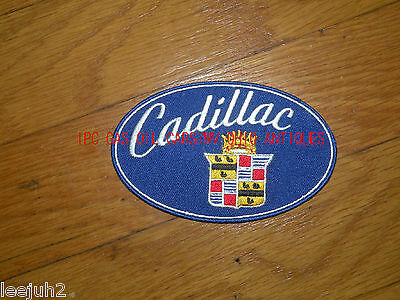 Cadillac 1950-55 era style patch blue