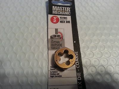 "Master Mechanic 1/2""-13 Nc Hex Die-Coarse  788545"