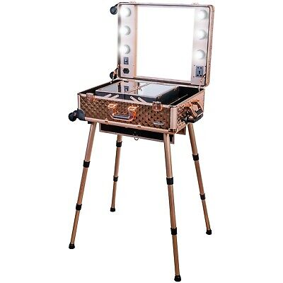 SHANY Studio ToGo Wheeled Trolley Makeup Case & Organizer with Light