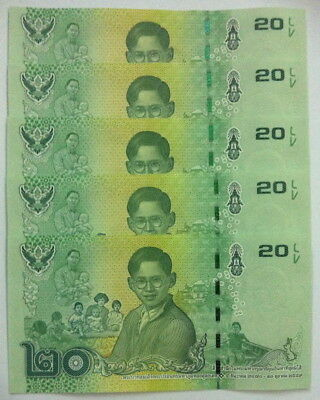 Thailand Commemorative Banknotes in Remembrance of His Majesty King BhumibolUNC