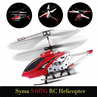 COOL! Syma S107G 3CH Remote Control Helicopter Alloy Copter with Gyroscope LOT M