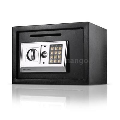 Digital Electronic Safe Security Box Jewelry Gun Cash Home Office Hotel Hot Q3A8