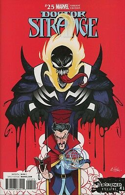 Doctor Strange #25 Venomized Dormammu Variant Marvel Comics Near Mint 9/20/17