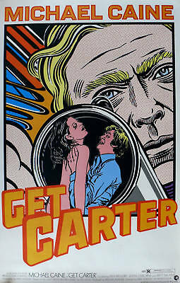 Get Carter Laminated Mini  A4 Poster Michael Caine