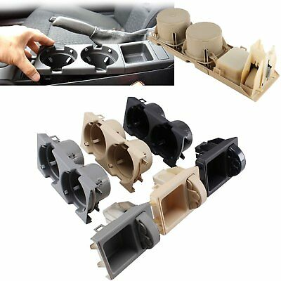 New Front Center Console Drink Cup Holder Box Cover for BMW E46 3 Series 99-06