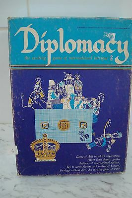 Diplomacy Avalon Hill  War Game 1976 Complete