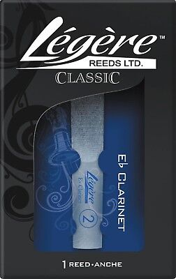 Legere Reeds Eb Clarinet Reed Standard 3.25