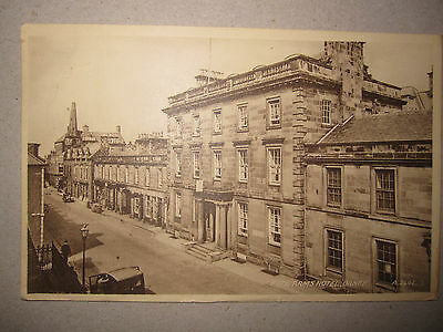 Fife Arms Hotel, Banff - old Valentines postcard - mailed - date unclear