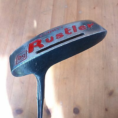 BRONTY Rustler Putter, RH Steel Shaft